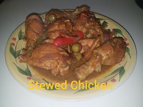 Stewed Chicken - Dominican Style
