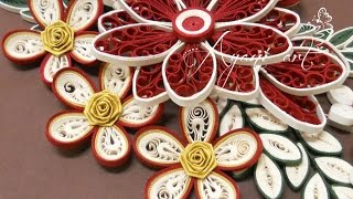 Quilling Malaysian Rose Flower Tutorial