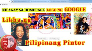 Pacita Abad - Filipino Visual Artist | Google Just Honored With A Doodle Of The Day