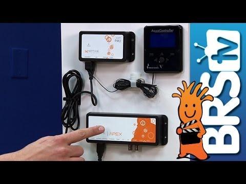 Mounting the Apex and Wire Management EP 5 Apex Aquarium