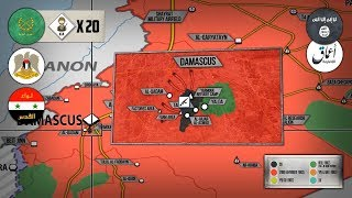 3 мая 2018. Военная обстановка в Сирии. Вывоз боевиков и тяжелые бои против ИГИЛ из Дамаска.
