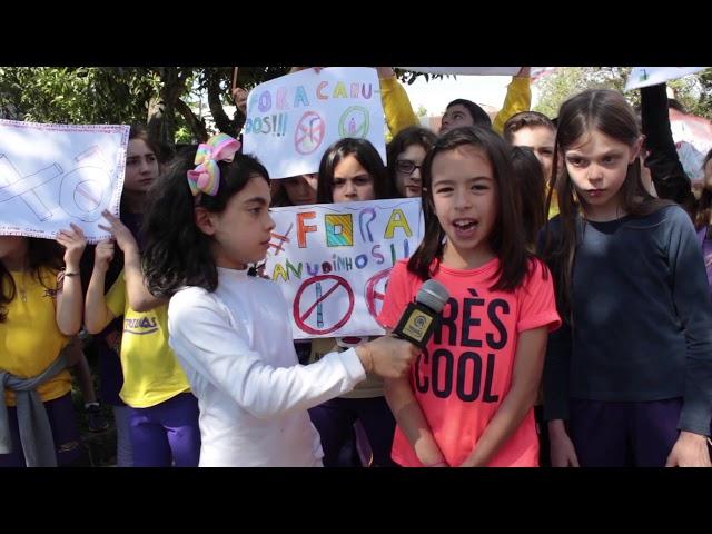 14º Simpósio |  Manifestação dos 3°s anos