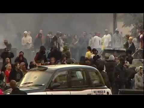London riots report from BBC News - 8 August 2011
