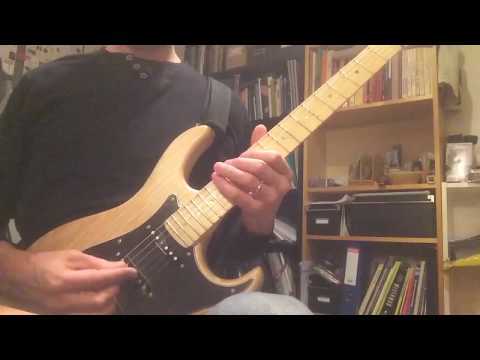 Jazz guitar, Dominant 7th Cycle. Sweep and economy picking w. tabs
