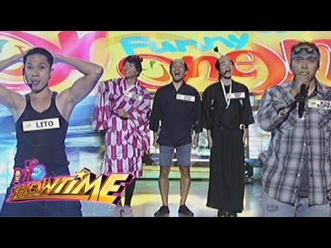 It's Showtime: Funny One contestants Lito Tamayo, HPN3 and Korte Supremo