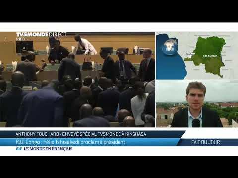RDC : Félix Tshisekedi proclamé président, suite à la décision de la Cour Constitutionnelle