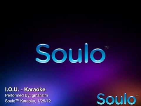 I.O.U. (Karaoke)