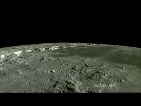 Flying Over the Archimedes Crater and Past the Apollo 15 Landing Site