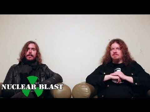 OPETH  - Sorceress On Tour (OFFICIAL INTERVIEW)