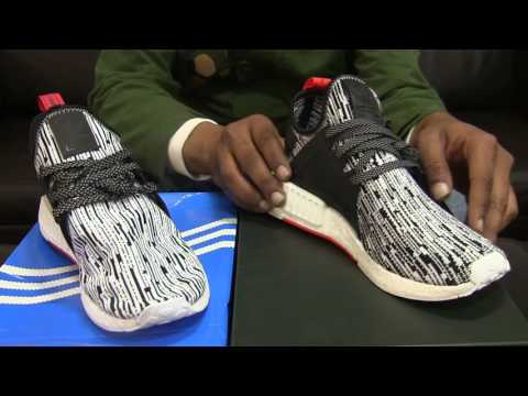 Adidas NMD  XR1 PK - White Camo - Real vs Fake