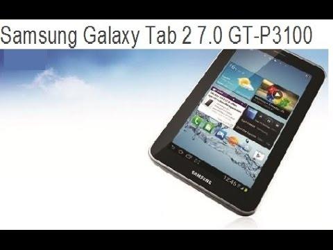samsung galaxy tab 2 7.0 gt p3100