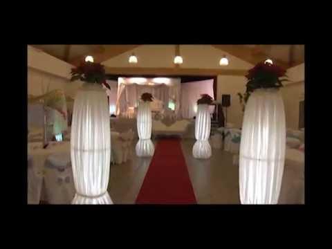 décoration, mariage orientale bordeaux