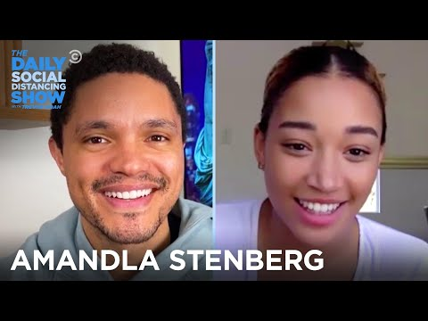 Amandla Stenberg - Coping with Anxious Moments During ...
