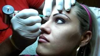 Machiaj Semipermanent make up prin tatuaj al sprincenelor,buzelor,contur ochi,Zarescu Dan ZDM 0745001236 Buc