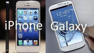 Айфон или Гэлакси? Сравнение [iPhone 4S vs. Galaxy S 3]
