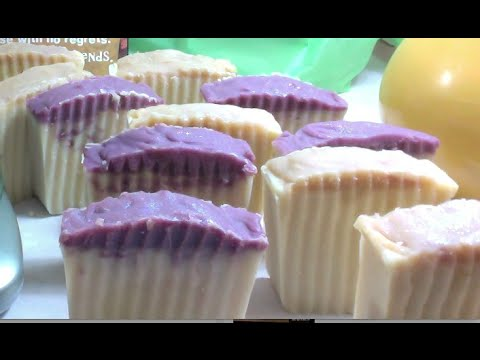 Making and Cutting Patchoulli Soaps