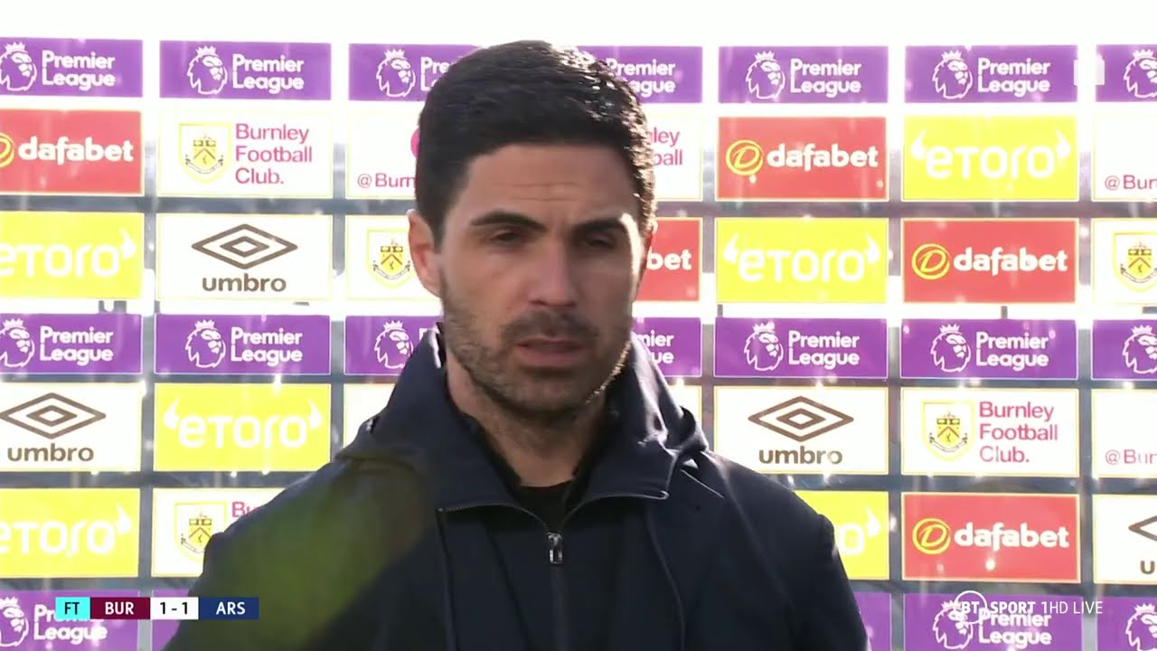 """We should have won by two or three!"" Mikel Arteta rues missed chances as Arsenal draw at"