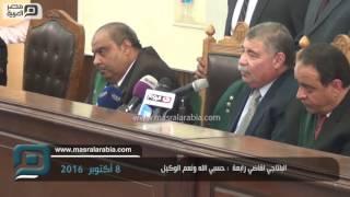 فيديو| البلتاجي لقاضي رابعة : مسرحية.. حسبي الله ونعم الوكيل