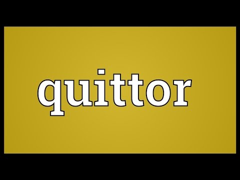 Header of quittor