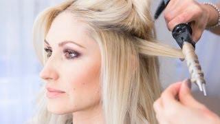 Как завивать волосы плойкой правильно: видео-инструкция