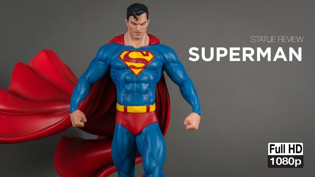 Statue Review Superman 1 4 Scale Statue By Xtreem Sculptures Salt Amp Pepper Studios Youtube