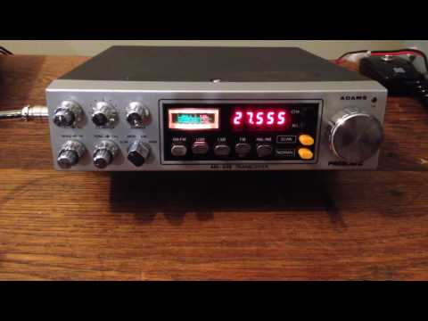 President Adams with vfo and freq display conversion