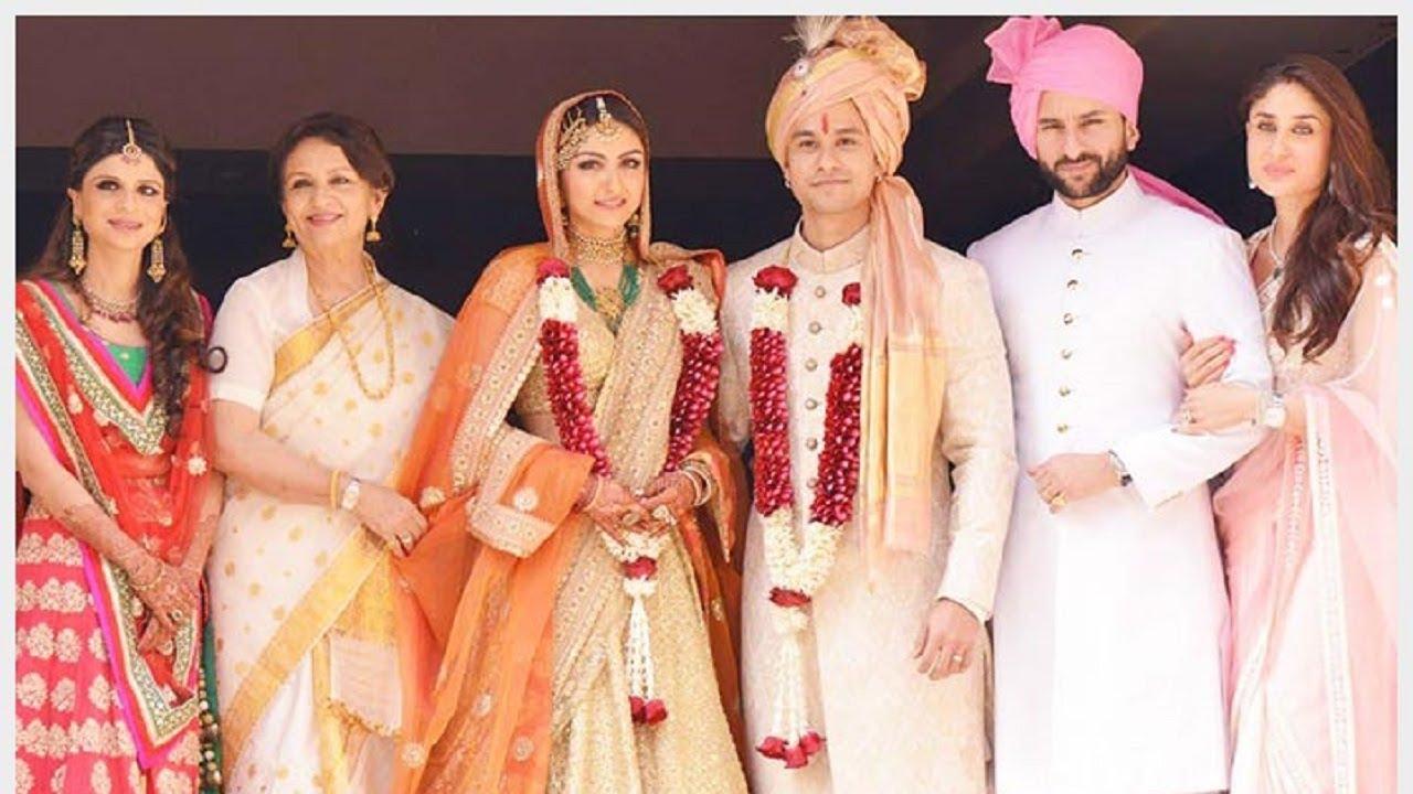 Flashback Soha Ali Khan Kunal Khemu Wedding Ceremony Full Video Kareena Kapoor Saif