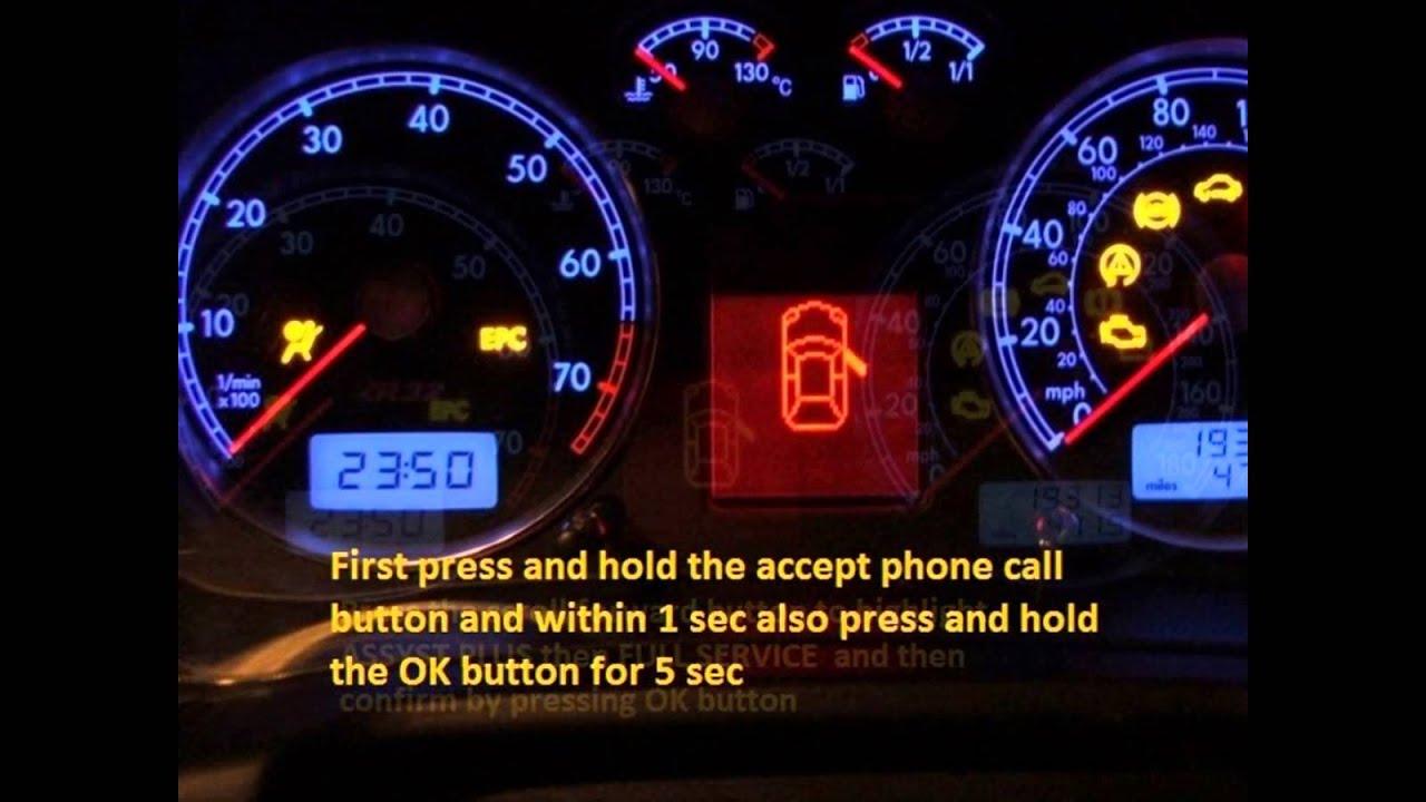 Chevrolet GMC Trucks Terrain 2011-2015 - how to reset ...
