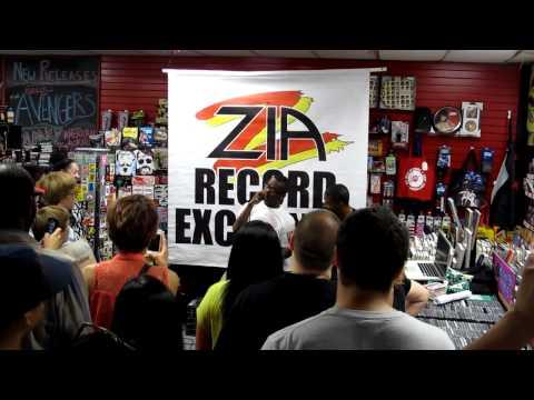 Fashawn - Acapella Rap - Performed Live at Tempe, AZ's Zia Records