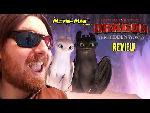 How To train your Dragon 3: The Hidden World - Review   The Movie man Reviews ep1