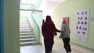 مدارس الرواد تنفذ إخلاء طوارئ وهمية بقسمي المتوسط والثانوي
