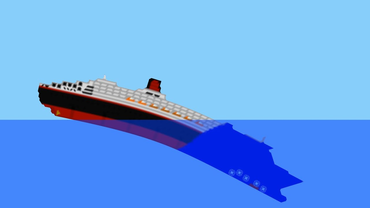 Ship Sinking Simulator Queen Mary 2 Sinking
