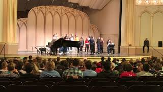 CU Madrigal Festival 2018 - Aria - 'Lineage' by Andrea Ramsey
