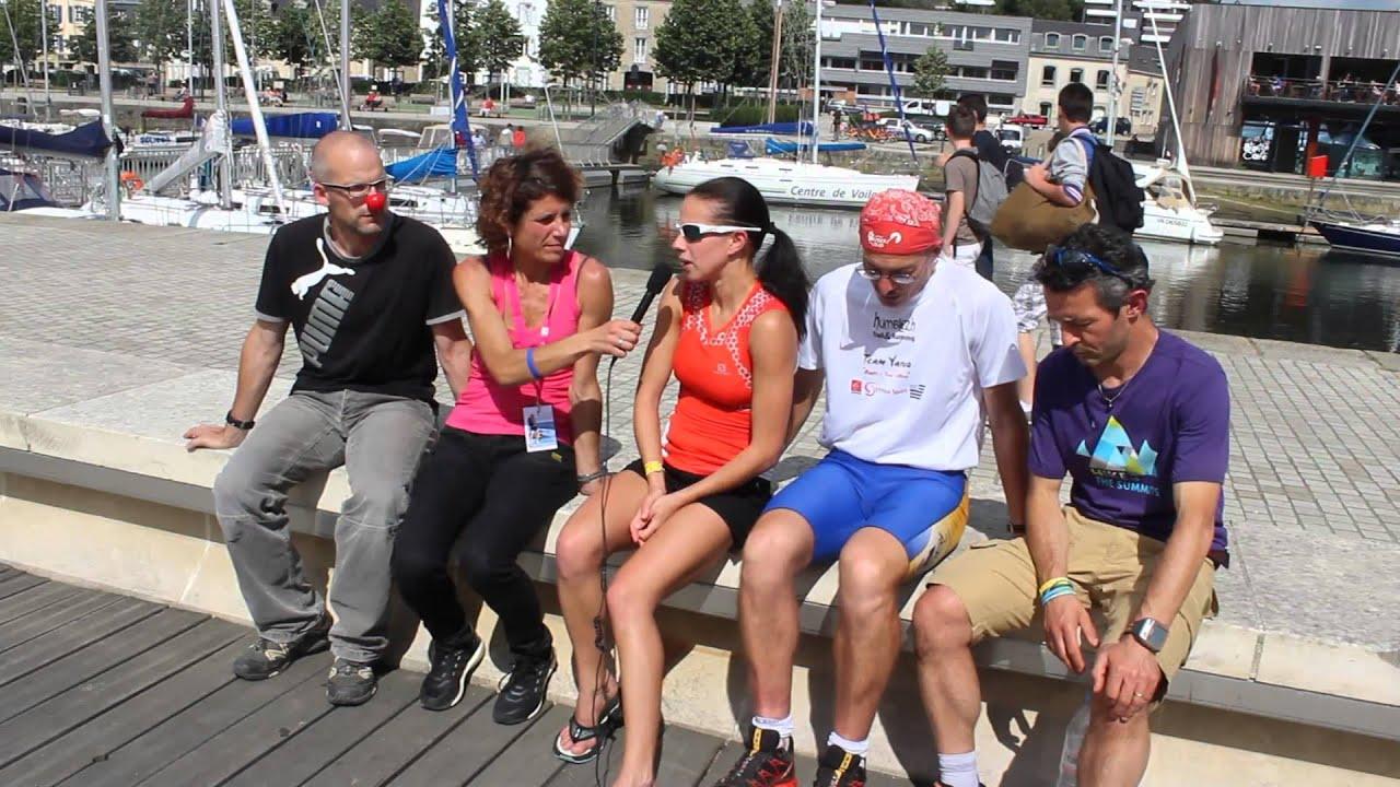 Amandine Porn Dijon interview amandine roux avant le départ du 177km