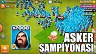 ASKER ŞAMPİYONASI #6 (ÇEYREK FİNALLER) - Clash of Clans