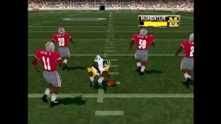 Ohio State vs Michigan: NCAA Football 2001 PlayStation