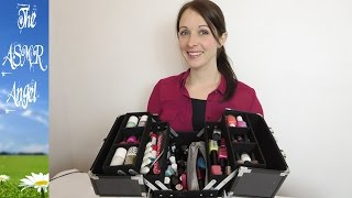 ASMR Nail Polish Collection Show and tell