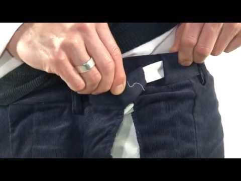 Expanding Waist Cord Trousers Youtube