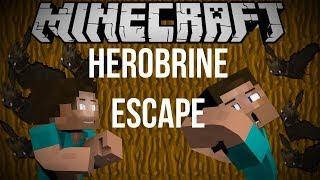 ESCAPE DA HEROBRINE!!!!! #Roblox#Herobrine