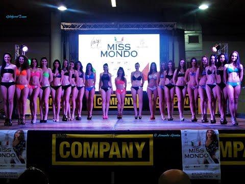 Miss Mondo italia - Padova, sfilata in Bikini e premiazioni