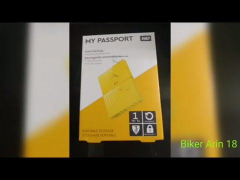 WD MY PASSPORT 1TB HARD DISK | UNBOXING REVIEW | WESTERN DIGITAL
