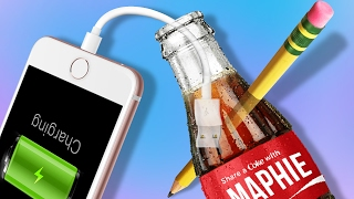 Can You Charge Your Phone Using Coke? - SODA DIYs You NEED to Try