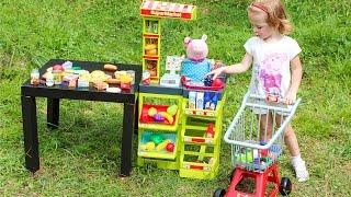 Свинка Пеппа Супермаркет Играем вместе в магазин Игры для детей Peppa Pig Новые игрушки Распаковка