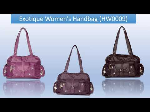 10 Best Bag For Women |  Hand Bag | Shoulder Bag | Sling Bag | Best Price | Exotique Brand