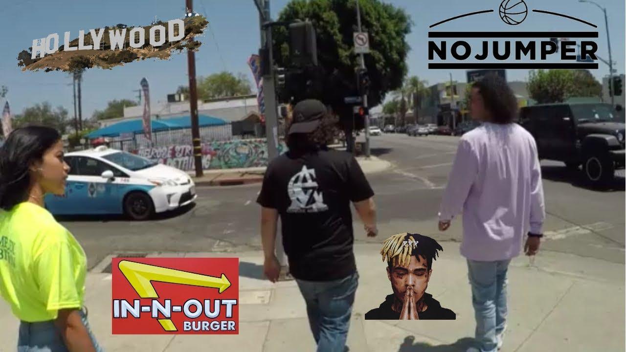 La Trip Must Watch Vlog No Jumper In N Out Hollywood Meet