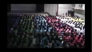 浜松北高校学校祭 開会式