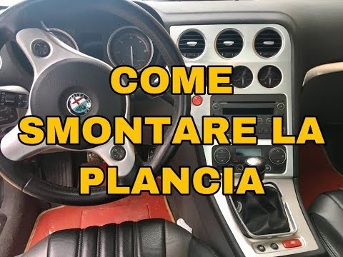 HOW TO DISASSEMBLE THE DASHBOARD AND SPEEDOMETER ON ALFA ROMEO 159 / BRERA AND SPIDER