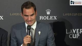 Federer makes light-hearted joke about Murray injury thumbnail