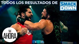REVIVE SmackDown en 5 (MINUTOS): WWE Ahora, Nov 22, 2019