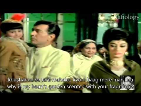 o nanhe se farishte Hindi English Subtitles Full Song Ek Phool Do Mali